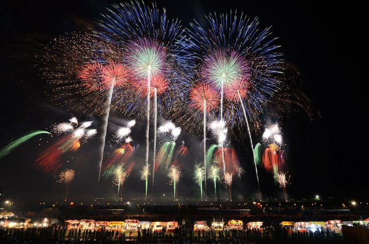 "Omagari National Fireworks Competition – Akita Prefecture. Visit Akita for Japan's largest fireworks festival ""Omagari National Firework Competition Festival""!"