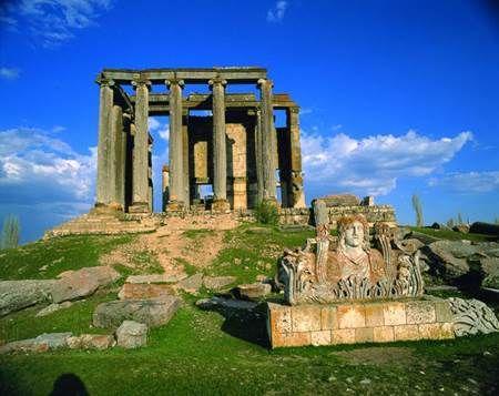 Aizanoi antik kenti (Zeus Tapınağı)KÜTAHYA