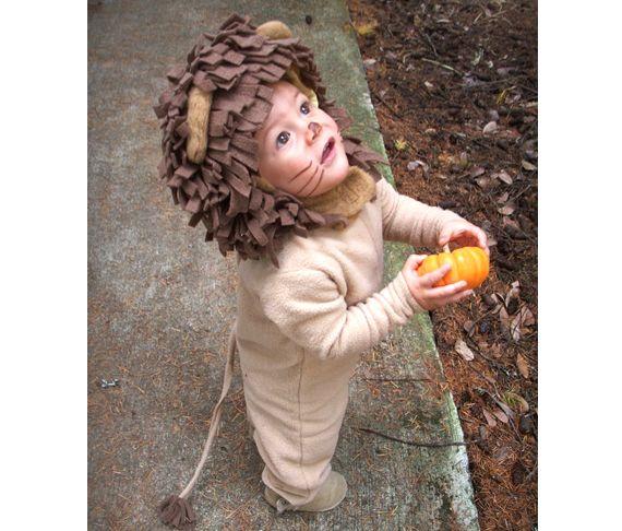 Kids Halloween costume ideas   Baby lion   100 Layer Cakelet