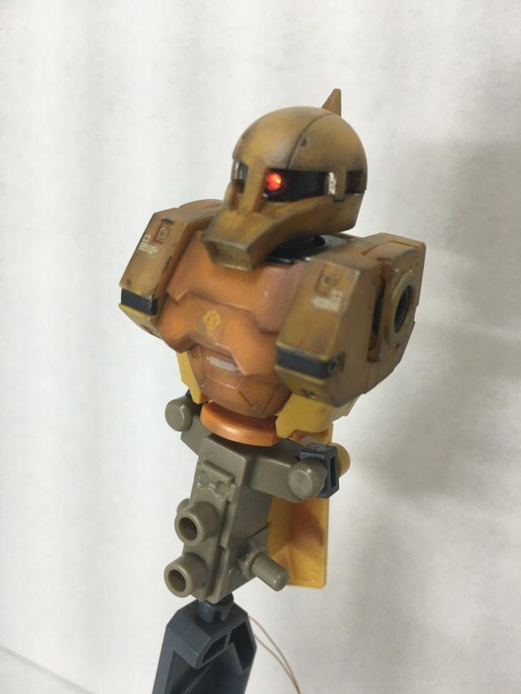 HGGT MS-05 ZAKU I GUNDAMTHUNDERBOLT Ver. #1 썬더볼트 버전 자쿠1입니다. 이번에는 만들면서 바로 웨더링을 진행하려고 합니다. 박스아트부터 폭죽이 아...  #Zaku #Gunpra #Weathering #GundamThunderbolt