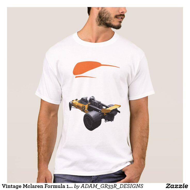 Vintage Mclaren Formula 1 T-Shirt
