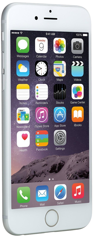 EUR 399,00- Apple iPhone 6 Argento 16GB (Ricondizionato Certificato)