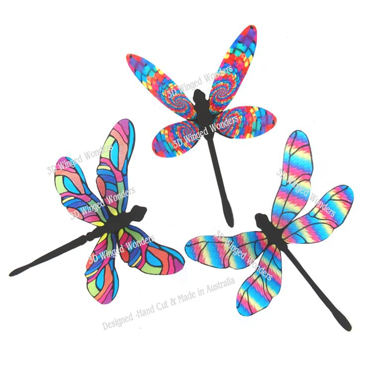Dragonfly cut outs for scrapooking