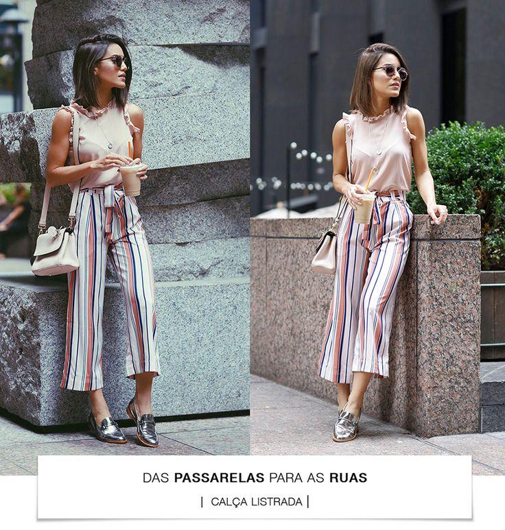 Das passarelas para as ruas- Calça Listrada camila coelho colaboradora alice ferraz calca_listrada_01