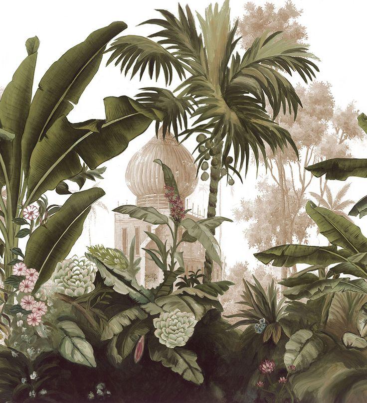 Paysages 200x220 - Panneau Cochin L200xH220 cm - 2 lés de 100 cm - Ultra mat