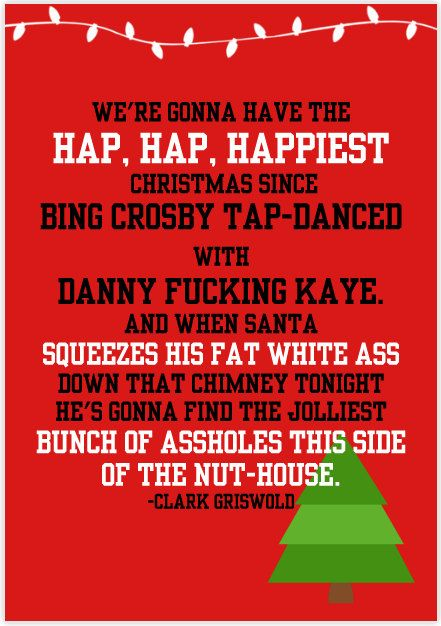 National Lampoons Christmas Vacation by SundayMorningCards on Etsy, $4.00