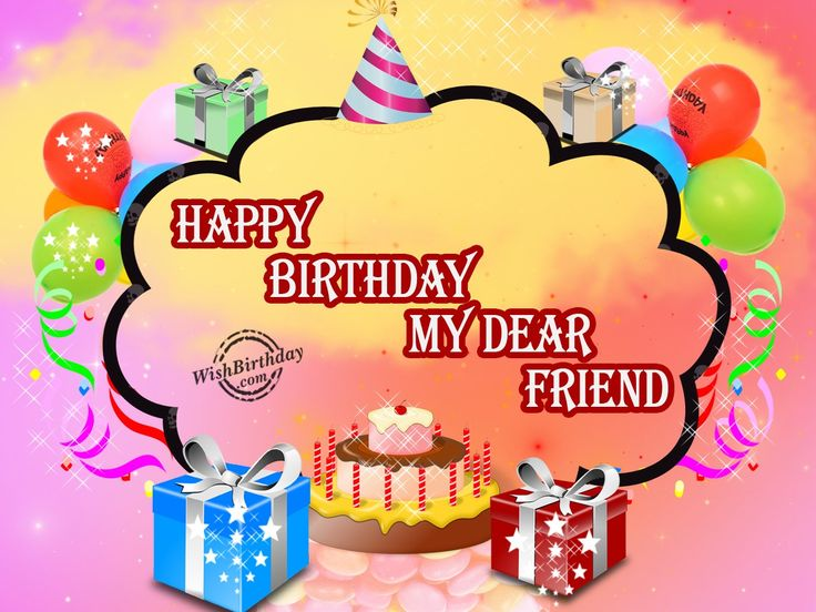 The 25 best Happy birthday male friend ideas – Friend Birthday Card Messages