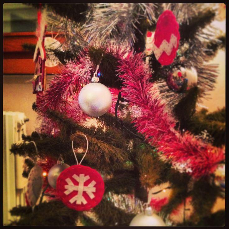 Decorazioni albero di Natale 2012