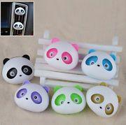 Hot 2x Auto Dashboard Air Freshener blink Panda Perfume Diffuser for Car CA04