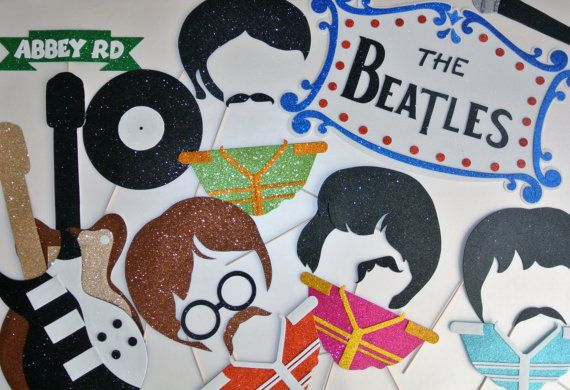 Inspired by the Beatles Abbey Road rock band by weddingphotobooth