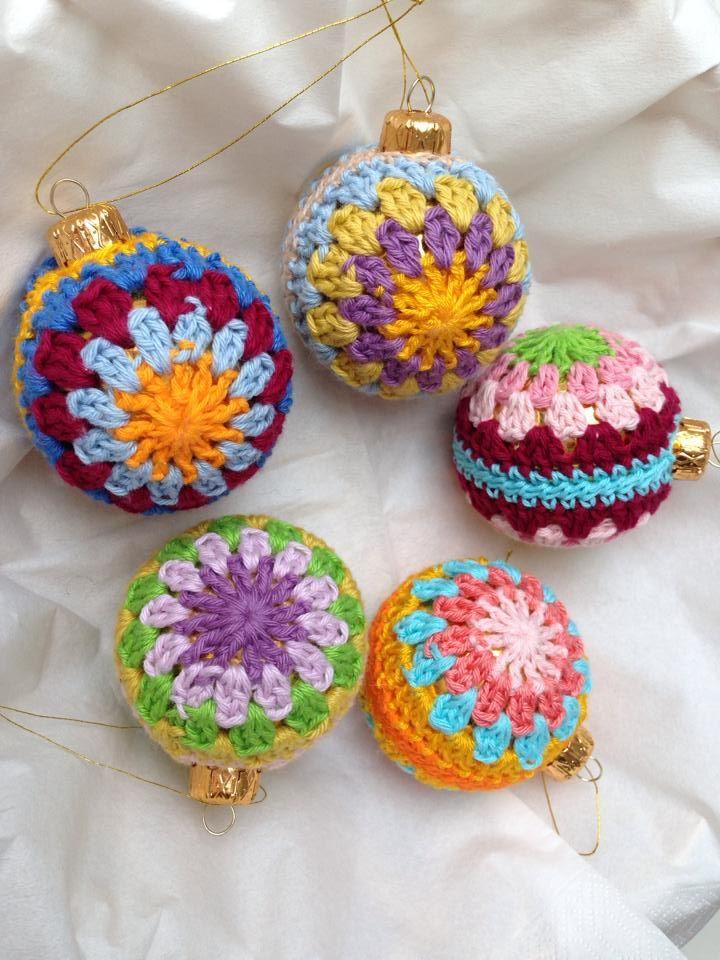 Crochet Christmas Ornament Inspiration  ❥ 4U // hf