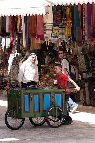 The marketplace in old Jerusalem is amazing!