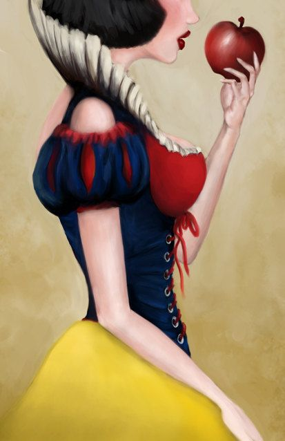 Signed Limited Edition Snow White Art Illustration  NEED.