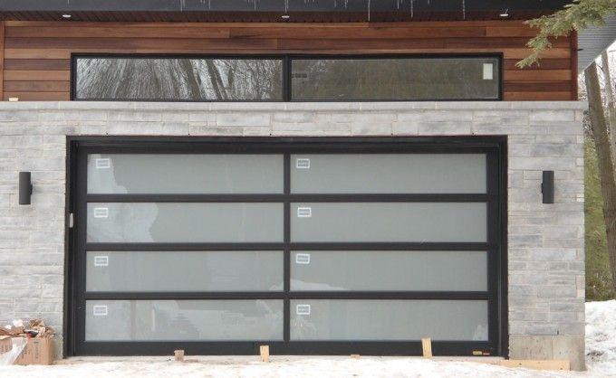 Porte de garage en acier 273 garage pinterest - Porte de garage acier ...