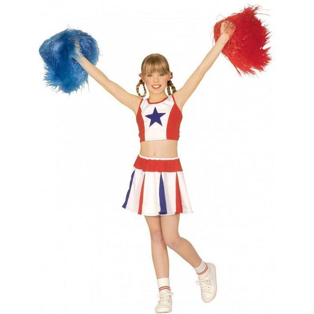 Cheerleader Kinderkost Uuml M In 2020 Kinder Kostum Hochwertige Kostume Cheerleader Kostum