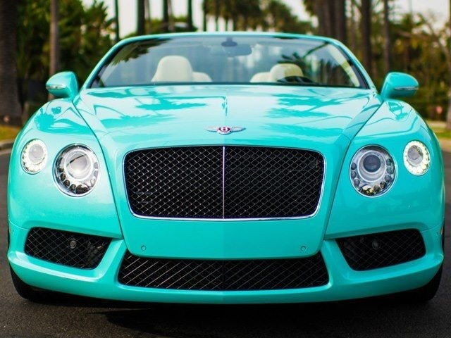Tiffany Blue Bentley 2013