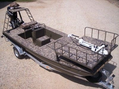 17 best images about bowfishing boat build on pinterest for Bow fishing platform