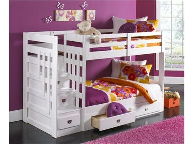 Want To Get This Bed For The Girlu0027s Room Malibu Staircase Bunk Bed,