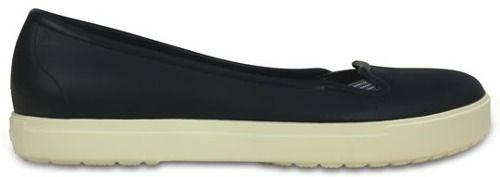Zapato Crocs Dama Citilane Flat Azul Marino