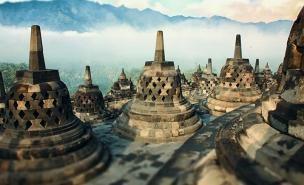 Manificent Borobudur ~ Yogyakarta
