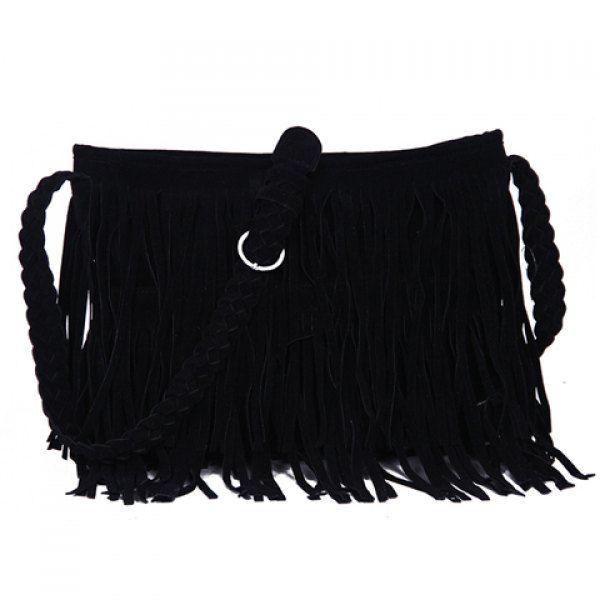 Boho Fringe Bag Black.jpg
