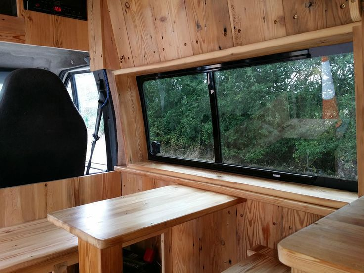 Cool Ford OFF GRID SOLAR Campervan Transit T350 HiTop LWB CONVERSION W SHOWER