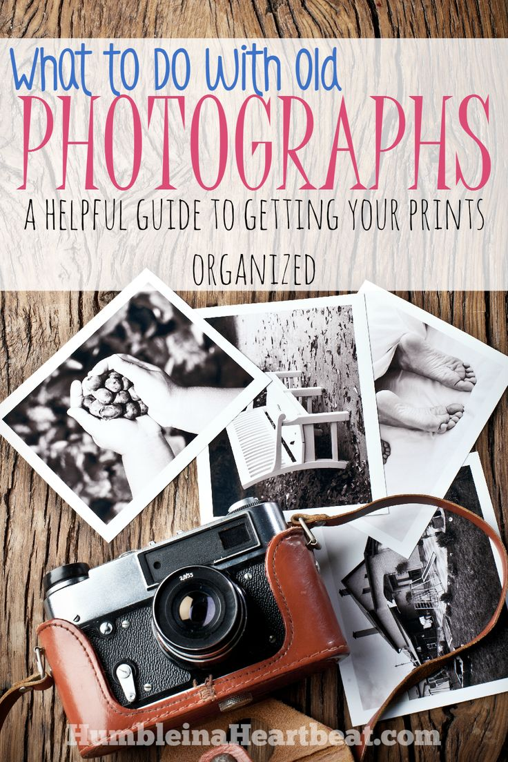 If you've got a box (or several boxes) of pictures in your basement, you need to organize them! This post will motivate you and teach you how to get those pictures out of that basement and out where you can enjoy them!