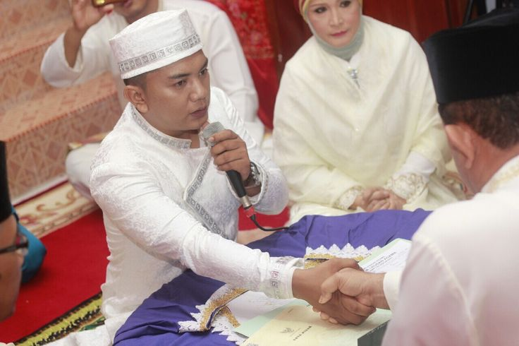 Ijab qabul pernikahan ku