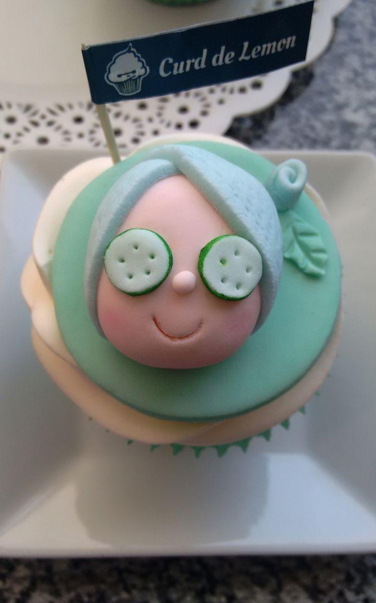 Spa Rest Beauty Cupcake <3
