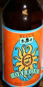 Another local favorite.  Better enjoyed on draft at Bell's than bottled.  In a bottle the flavor is lost a bit.  Bell's Oberon Ale by Bell's Brewery Inc. 5.8%. American Pale Wheat Ale. Bottled.