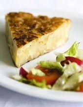 Tortilla met courgette