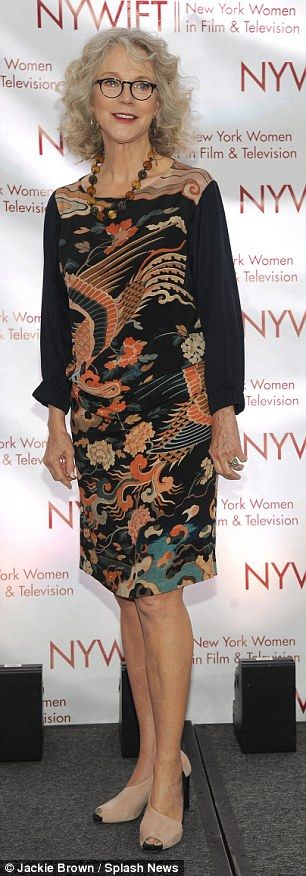Blythe Danner and Patricia Clarkson at New York Women In Film And Television Awards  | Daily Mail Online