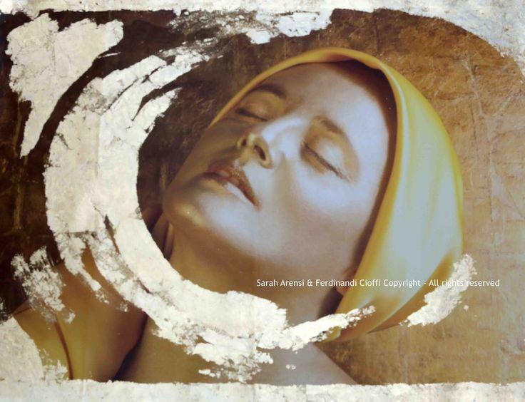 """Grace"" from Virtues series  FotoPainting on canvas 125x95 cm  Sarah Arensi&Ferdinando Cioffi 2013"