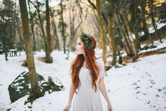Winter photoshoot - The Freckled Fox