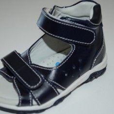 Sandale ortopedice din piele pentru baietei-SIBEL