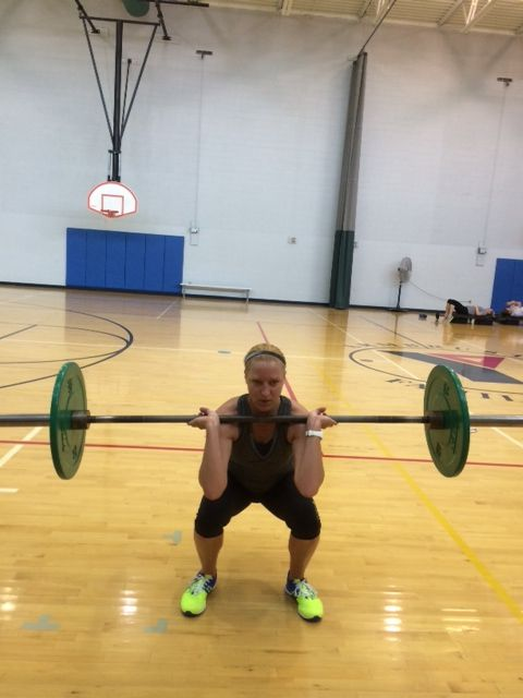 Crossfit open 14.5 workout @Blonde Ponytail