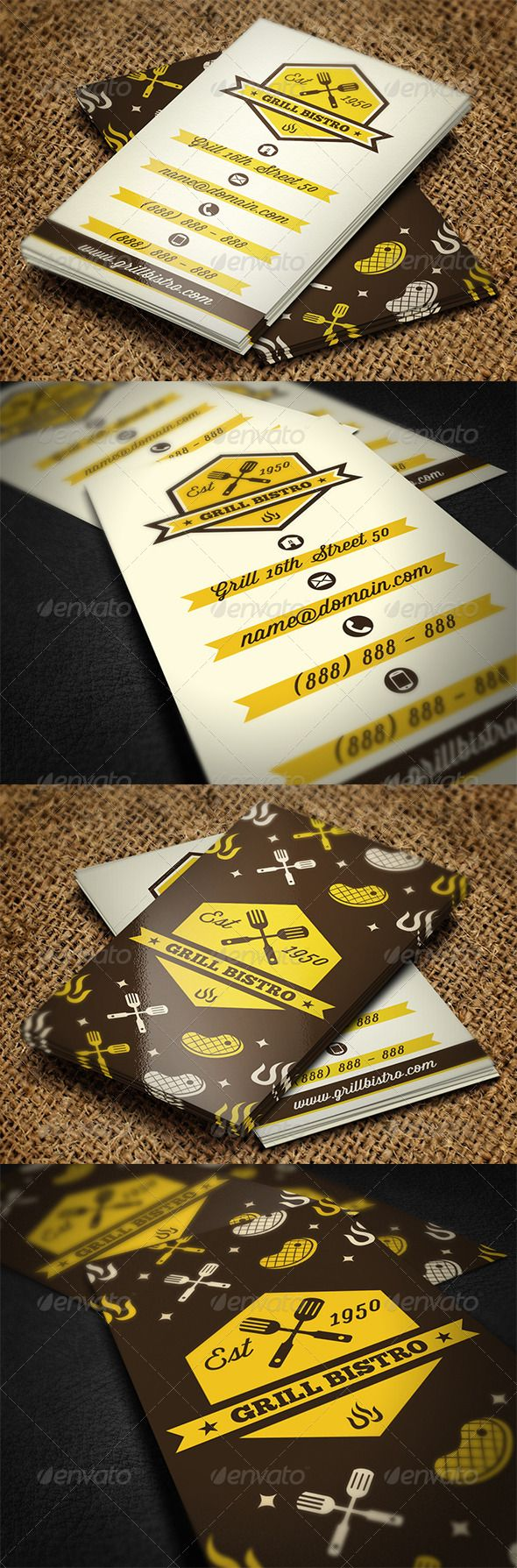 135 best Business card design images on Pinterest | Business card ...