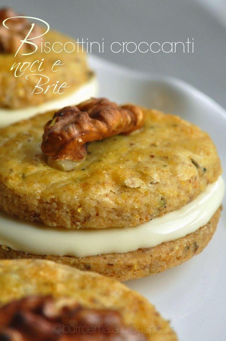 Burro e Malla: Bocconcini croccanti noci e Brie