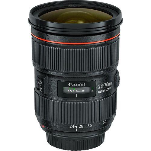 Canon EF 24-70mm f/2.8L II USM Lens 5175B002 B&H Photo Video