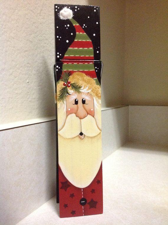 Santa Memo Clip by BizzyCreations on Etsy, $7.50