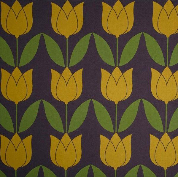 Michael Miller tulip ochre. Cotton.