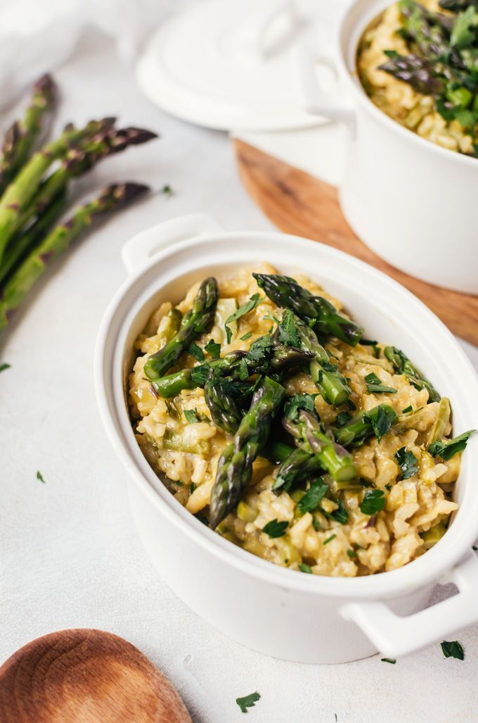 The 25 best asparagus risotto recipe ideas on pinterest spinach a comforting cheesy asparagus risotto that novices and expert cooks alike will enjoy making ccuart Gallery