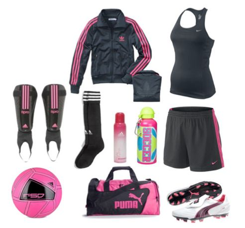 Get Ready For Your Next Training Soccer Football Outfit Women Pink Nike Adidas Puma Soccer Outfit Soccer Outfits Football Outfits