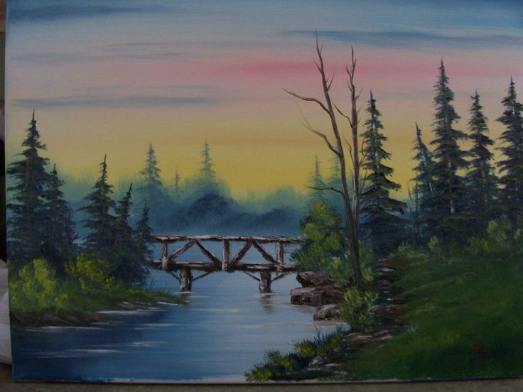 Bob Ross Paintings For Sale Original Choice Image Wallpaper And Free Download