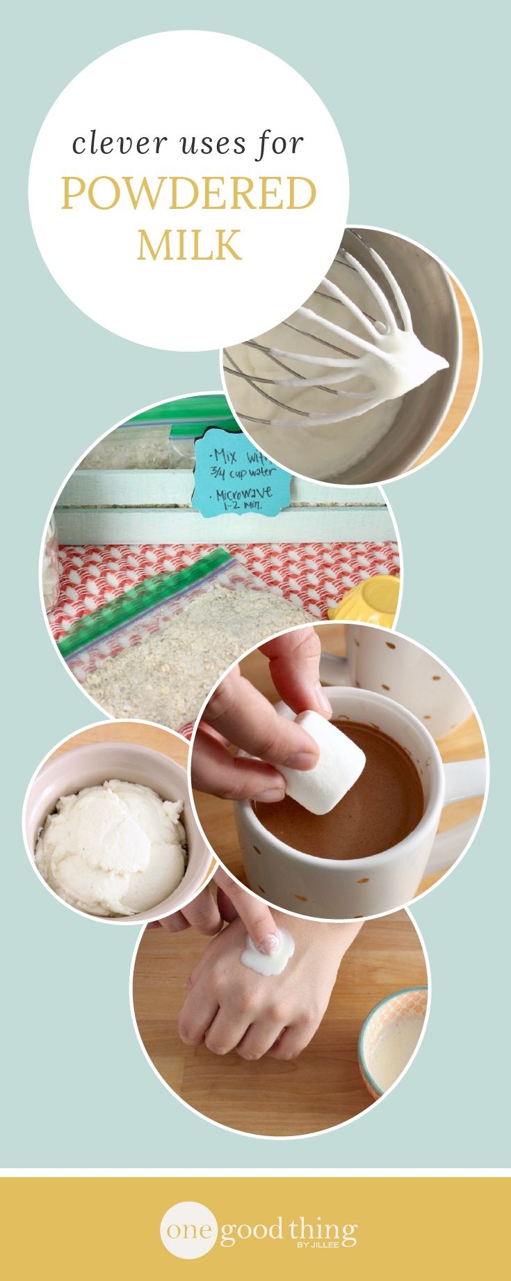 Powdered milk is a surprisingly versatile ingredient, and it pays to keep a box in the pantry! Check out these 12 things you can make using powdered milk.