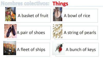 Nombres colectivos de cosas