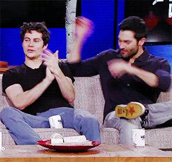 This is just the BEST!!!!!!!!!!!!!!!!! Dylan and Tyler on Wolf Watch S3b finale