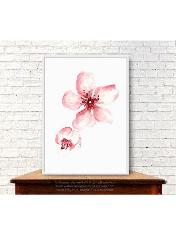 Flower poster | Etsy
