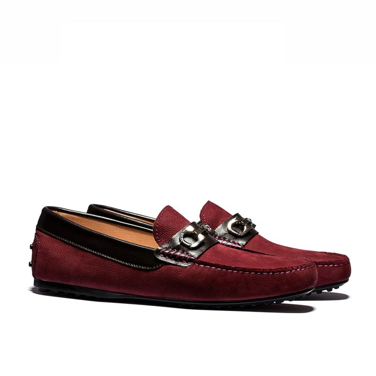 CITY LEATHER LOAFERS WINE [OL1623-2-wine] - $98.99 - OPP FRANCE – French Designer Fashion Shoes Online Store