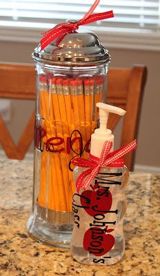 Pencil dispenser and lots of other back to school ideas...